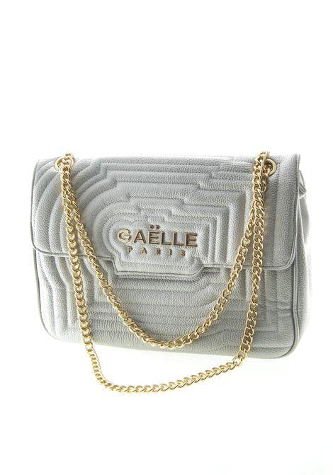 GAELLE TRACOLLA G METAL LOGO ARGENTO GAELLE | Borse a spalla | 1441PELLE-ARGENTO