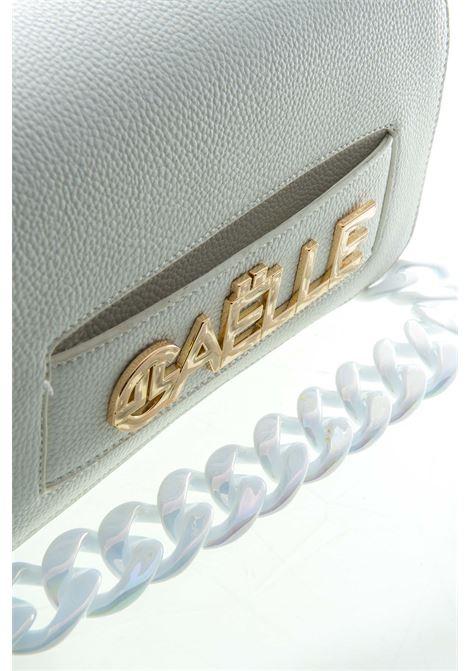 GAELLE POCHETTE LOGO BIANCO GAELLE | Borse mini | 1659PELLE-BIANCO
