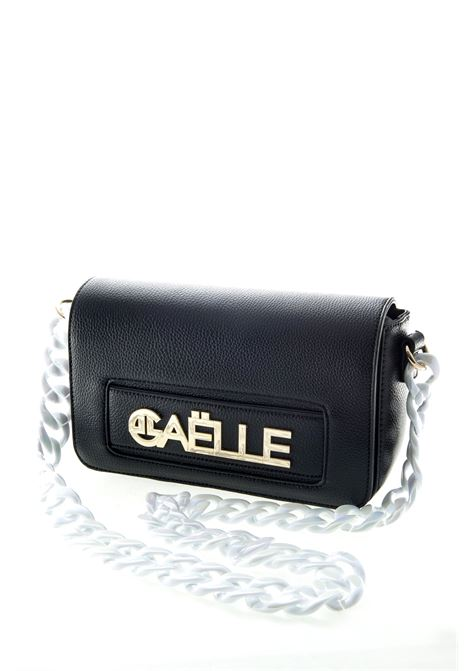 GAELLE POCHETTE LOGO NERO GAELLE | Borse mini | 1659PELLE-NERO