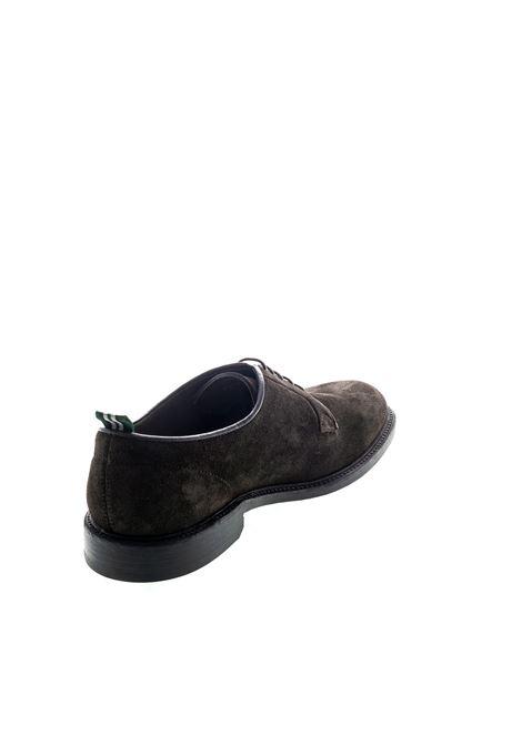 Green George Derby kenya moro/fondo cuoio GREEN GEORGE | Stringate | 3029KENYA-181