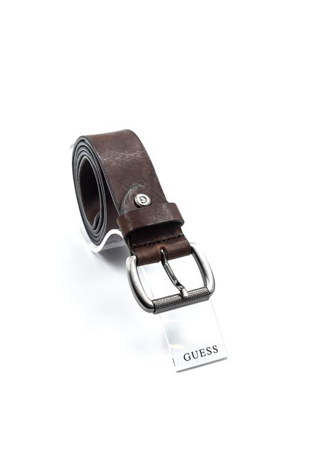 GUESS CINTURA COUNTRY MARRONE GUESS   Cinture   7237COUNTRY-DKB