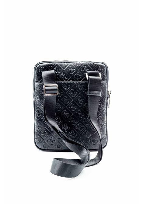 Guess tracolla dan logato nero  GUESS | Borse a spalla | P0224DAN LOGO-BLA