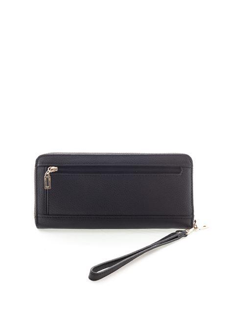 Guess portafoglio digital zip nero  GUESS | Portafogli | VG6853460DIGITAL-BLA