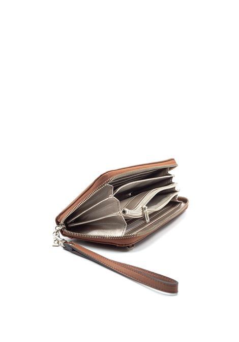 Guess portafoglio digital zip cuoio GUESS | Portafogli | VG6853460DIGITAL-COG