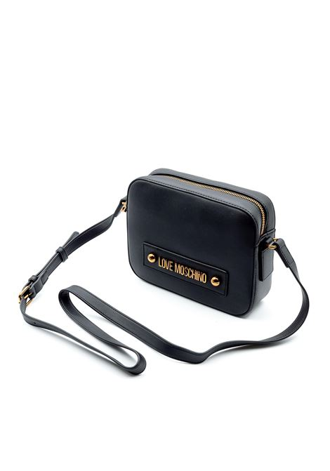 LOVE MOSCHINO CROSSBODY METAL STUDS NERO LOVE MOSCHINO | Borse mini | 4027PELLE-000