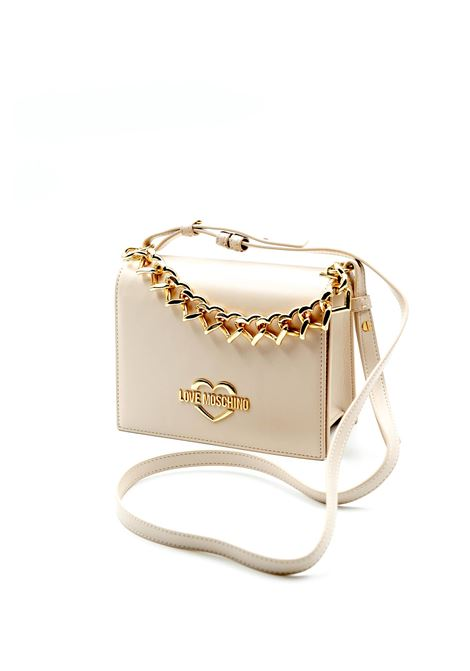 LOVE MOSCHINO POCHETTE HEART CHAIN CIPRIA LOVE MOSCHINO | Borse mini | 4257PELLE-110