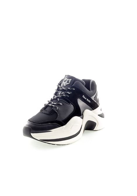 Sneaker Track nero NAKED WOLFE | Sneakers | TRACKTESS/PELLE-BLACK/WHT