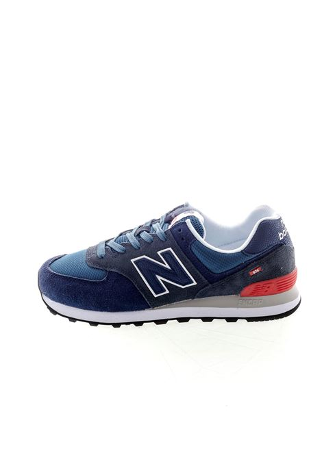 NEW BALANCE SNEAKER 574 BLU NEW BALANCE | Sneakers | 574EAE