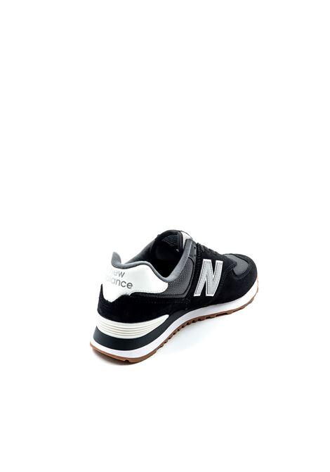 NEW BALANCE SNEAKER 574 NERO/GRIGIO NEW BALANCE | Sneakers | 574SPT