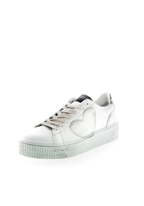 NIRA RUBENS SNEAKER COSMOPOLITAN CUORE BIANCO NIRA RUBENS | Sneakers | COCU121PELLE-BIA/LEOP