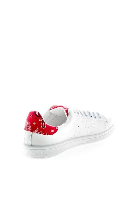 NIRA RUBENS SNEAKER DAIQUIRI ROCK CUORE NIRA RUBENS | Sneakers | DACU188PELLE-WHT/RED