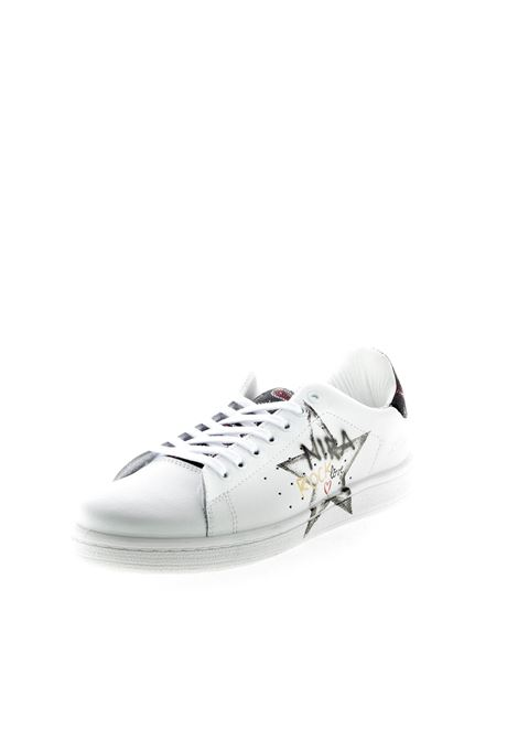 NIRA RUBENS SNEAKER DAIQUIRI STELLA ROCK NIRA RUBENS | Sneakers | DAST187PELLE-WHT/BLK