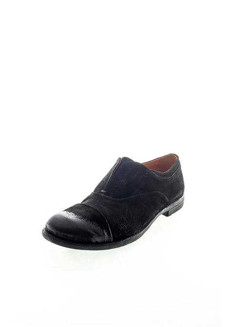 Pawelk's No lace camoscio nero PAWELK'S | Stringate | 15327CAM-NERO