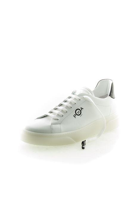 PHA SNEAKER PELLE BIANCO PHA | Sneakers | PH4PELLE-WHITE/BLACK