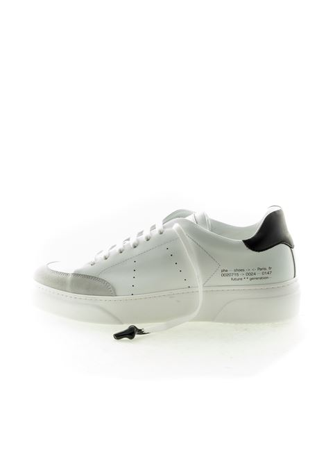 PHA SNEAKER LACE BIANCO/NERO PHA | Sneakers | PH8PELLE-WHITE/BLACK