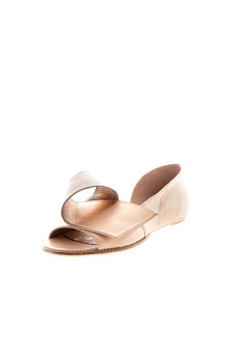 Sandalo nappa rame/fondo gomma POESIE VENEZIANE | Sandali flats | TAR1816NAPPA-RAME