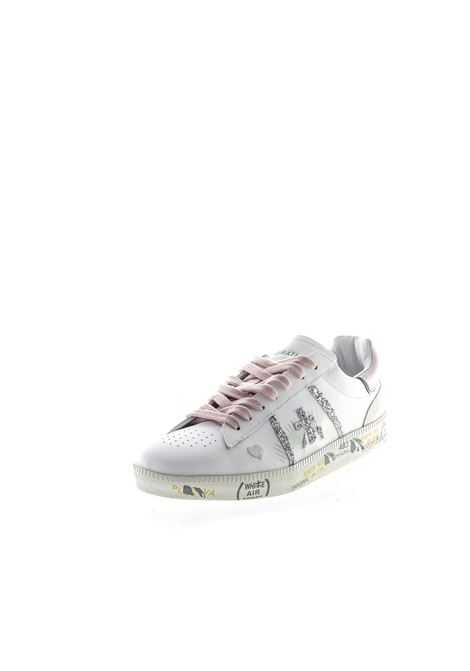 PREMIATA SNEAKER ANDY GLITTER BIANCO PREMIATA | Sneakers | ANDYPELLE/GLT-4677