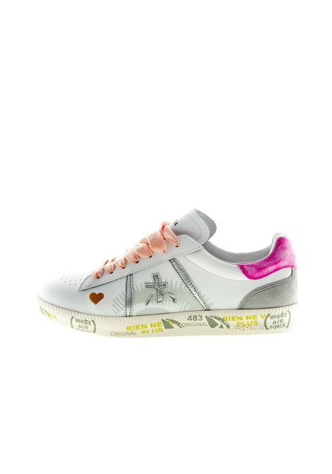 PREMIATA SNEAKER ANDY BIANCO/FUCSIA PREMIATA   Sneakers   ANDYPELLE-3903