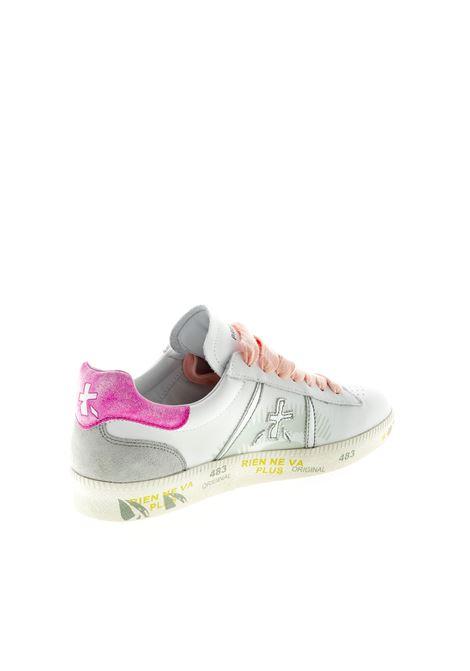PREMIATA SNEAKER ANDY BIANCO/FUCSIA PREMIATA | Sneakers | ANDYPELLE-3903