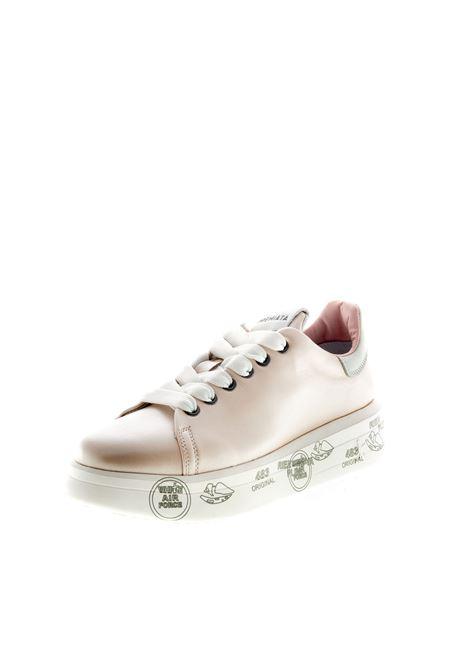 PREMIATA SNEAKER BELLE LAMINATO ROSA PREMIATA | Sneakers | BELLELAM-4536