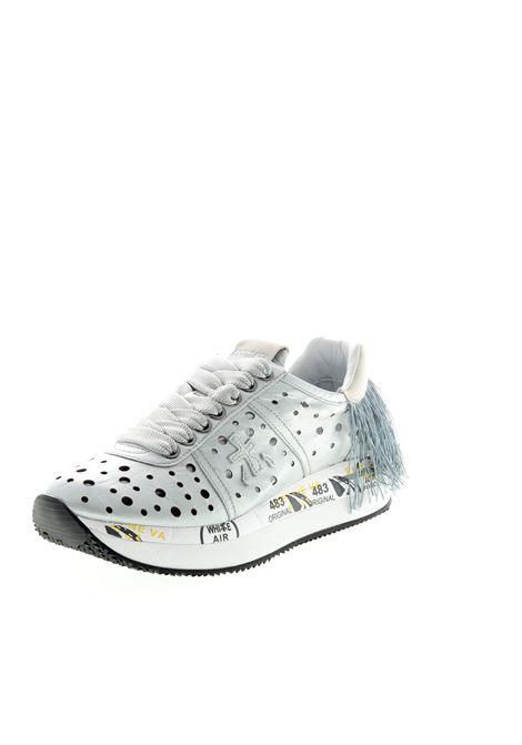 PREMIATA SNEAKER CONNY FORATA ARGENTO PREMIATA | Sneakers | CONNYPELLE-4730