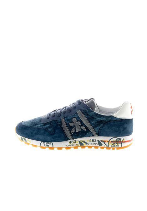 PREMIATA SNEAKER ERIC CAMOSCIO BLU PREMIATA | Sneakers | ERICCAM/CANVAS-4668