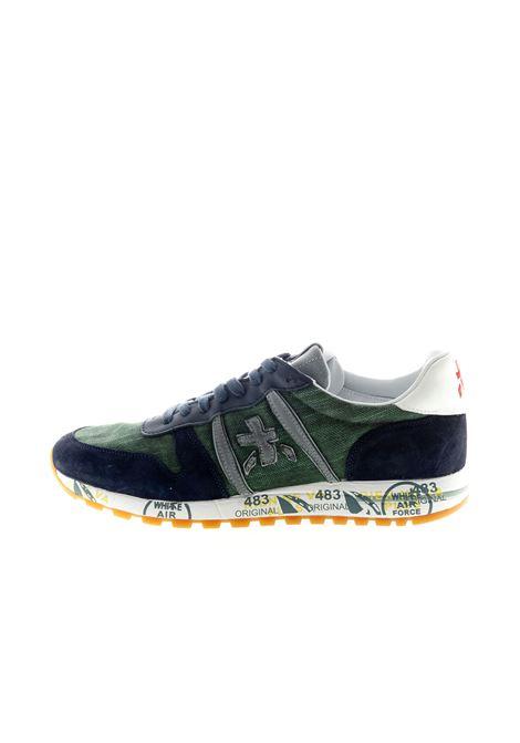 PREMIATA SNEAKER ERIC BLU/VERDE PREMIATA | Sneakers | ERICCAM/CANVAS-4669
