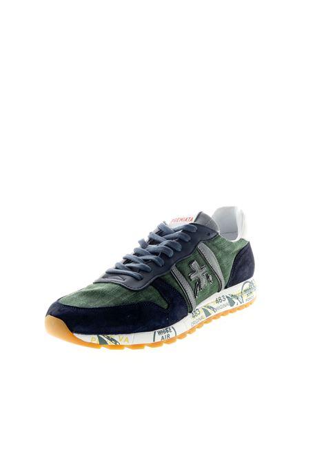 Sneaker eric blu/verde PREMIATA | Sneakers | ERICCAM/CANVAS-4669