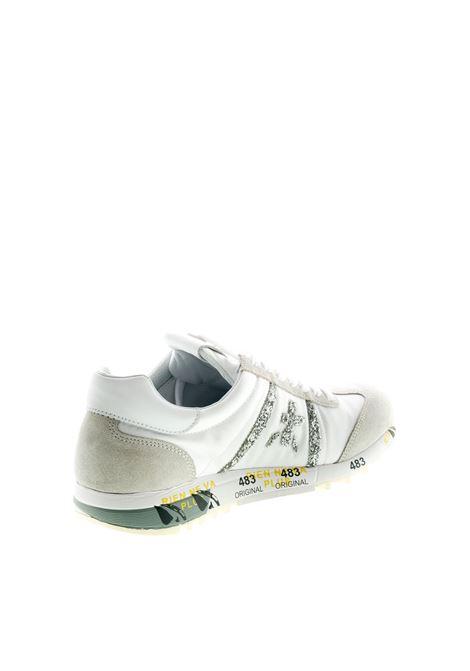 PREMIATA SNEAKER LUCY BIANCO/ARGENTO PREMIATA | Sneakers | LUCYCAM/NYL/GLT-4548