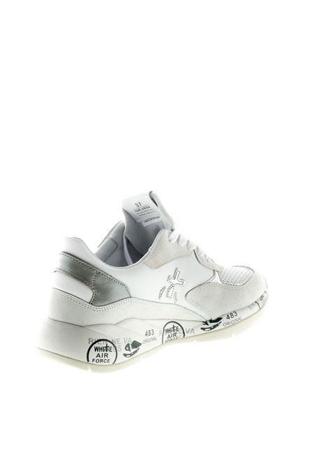 PREMIATA SNEAKER SCARLETT BIANCO/BEIGE PREMIATA | Sneakers | SCARLETTCAM/MESH-3694