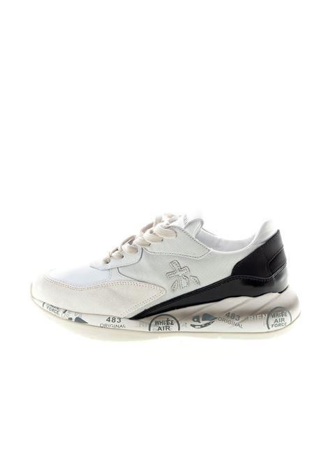 PREMIATA SNEAKER SCARLETT BIANCO/NERO PREMIATA | Sneakers | SCARLETTCAM/MESH-4530