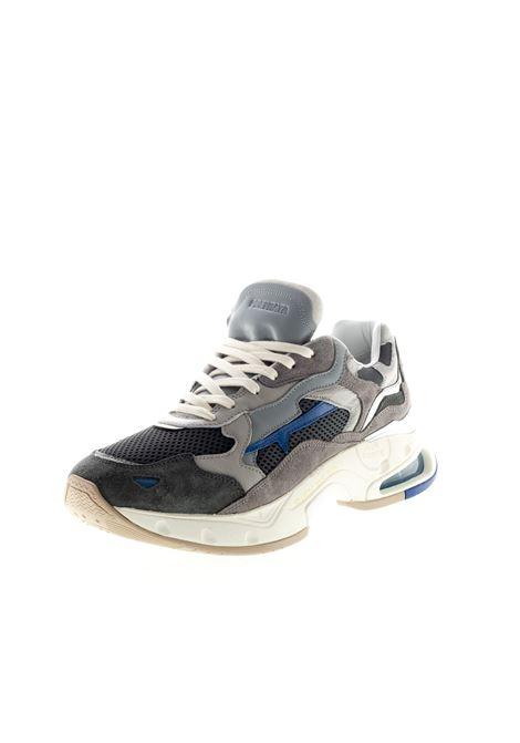 PREMIATA SNEAKER SHARKY GRIGIO PREMIATA | Sneakers | SHARKYPELLE/CAM-0022