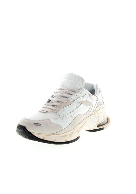 PREMIATA SNEAKER SHARKY BIANCO PREMIATA | Sneakers | SHARKYPELLE/CAM-023