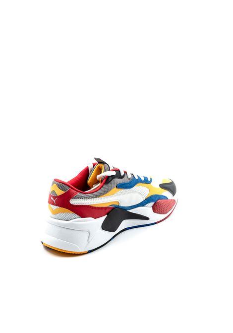 PUMA SNEAKER RSX PUZZLE BIANCO/GIALLO/BLU PUMA | Sneakers | 371570RSX PUZZLE-04