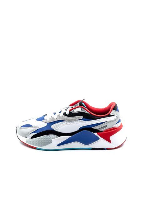 PUMA SNEAKER RSX PUZZLE BIANCO/BLU/ROSSO PUMA | Sneakers | 371570RSX PUZZLE-05
