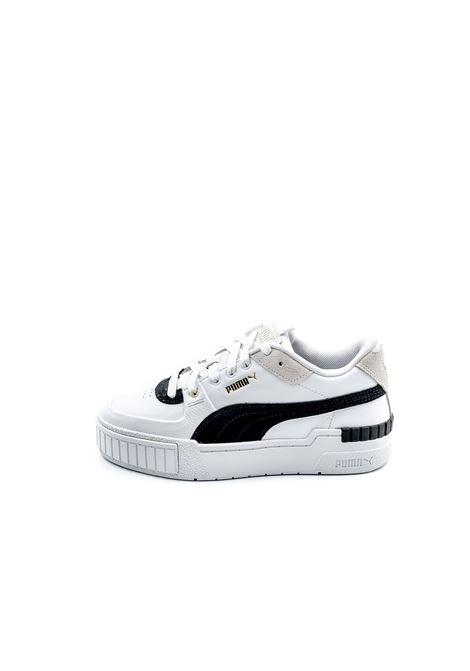 PUMA SNEAKER CALI SPORT HERITAGE BIANCO PUMA | Sneakers | 373080CALI SPORT HERITAGE-01