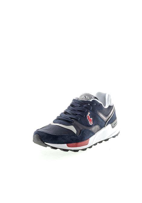 RALPH LAUREN TRACKSTR BLU RALPH LAUREN | Sneakers | 809773080TRACKSTR-001