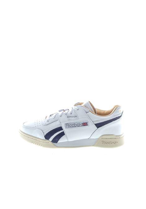 REEBOK SNEAKER CLUB REVENGE BIANCO REEBOK | Sneakers | EG6430PELLE-WHITE/VIOLA
