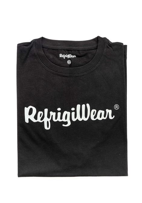 REFRIGIWEAR T-SHIRT DAVIS NERO REFRIGIWEAR | T-shirt | 22101DAVIS-06000