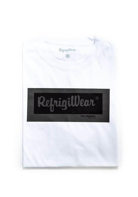 REFRIGIWEAR T-SHIRT RIDGE BIANCO REFRIGIWEAR | T-shirt | 22500RIDGE-010