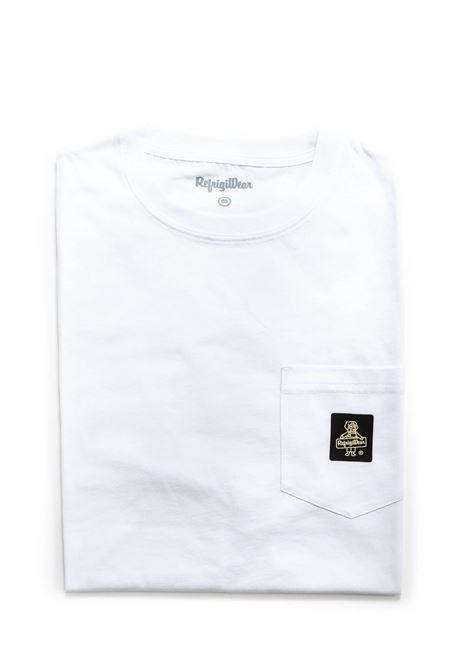 REFRIGIWEAR T-SHIRT PIERCE BIANCO REFRIGIWEAR | T-shirt | 22600PIERCE-010