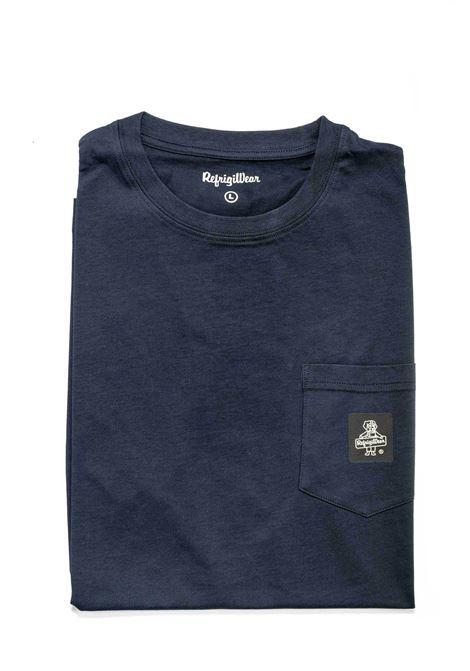 REFRIGIWEAR T-SHIRT PIERCE BLU REFRIGIWEAR | T-shirt | 22600PIERCE-03700