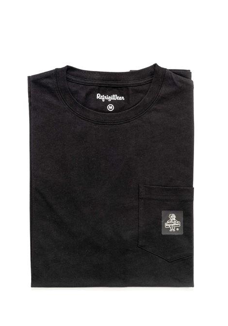 REFRIGIWEAR T-SHIRT PIERCE NERO REFRIGIWEAR | T-shirt | 22600PIERCE-06000