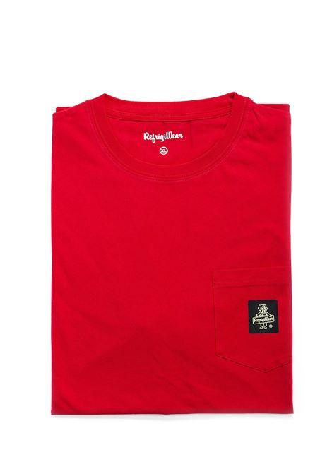 REFRIGIWEAR T-SHIRT PIERCE ROSSO REFRIGIWEAR | T-shirt | 22600PIERCE-1352