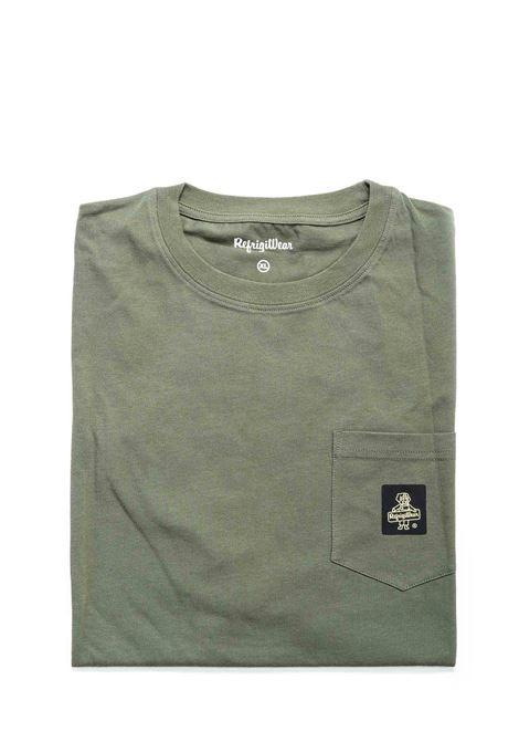 REFRIGIWEAR T-SHIRT PIERCE VERDE REFRIGIWEAR | T-shirt | 22600PIERCE-3121