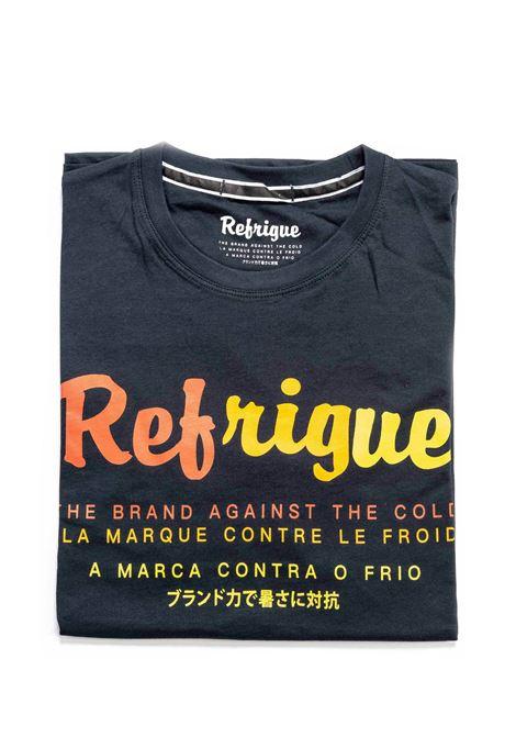 REFRUGUE T-SHIRT RAINBOW BLU REFRIGUE | T-shirt | 45099JERSEY-034