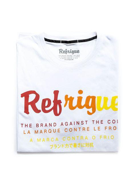 REFRUGUE T-SHIRT RAINBOW BIANCO REFRIGUE | T-shirt | 45099JERSEY-092