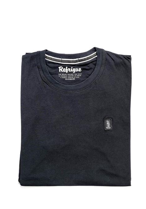 REFRIGUE T-SHIRT JERSEY NERO REFRIGUE | T-shirt | 45109JERSEY-001