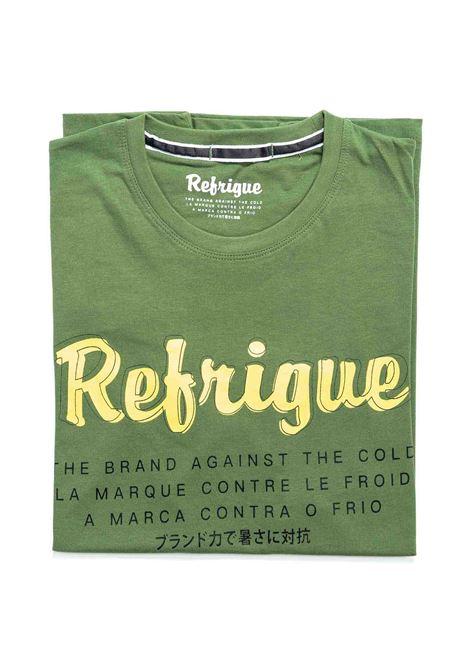 REFRIGUE T-SHIRT LETTERING VERDE REFRIGUE | T-shirt | 45110JERSEY-544