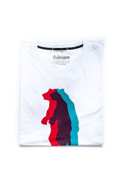REFRIGUE T-SHIRT BEAR BIANCO REFRIGUE | T-shirt | 45123JERSEY-092